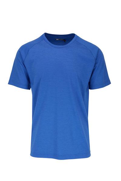 Z Zegna - Blue Techmerino T-Shirt