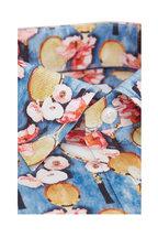 Eton - Multicolor Rackets & Floral Slim Fit Dress Shirt