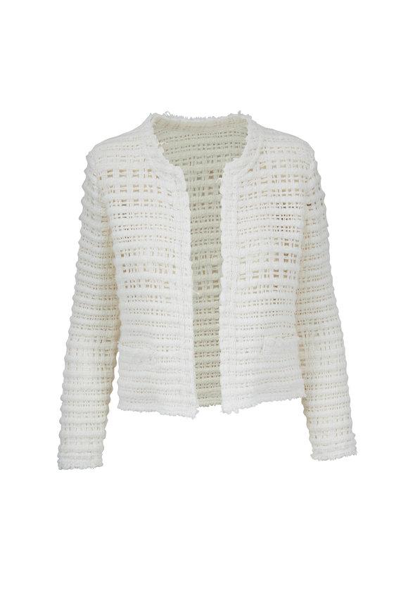 IRO Startle Ecru Open Weave Jacket