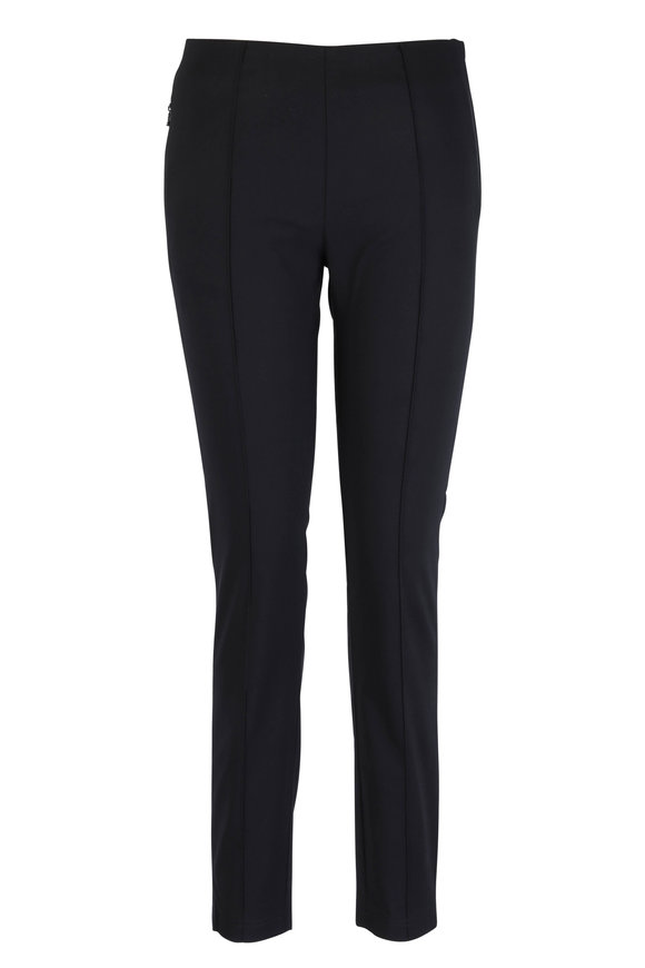 Bogner Evia Black Stretch Cotton Pant
