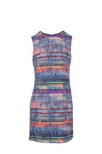 Emporio Armani - Multi Textured Weave Sleeveless Dress