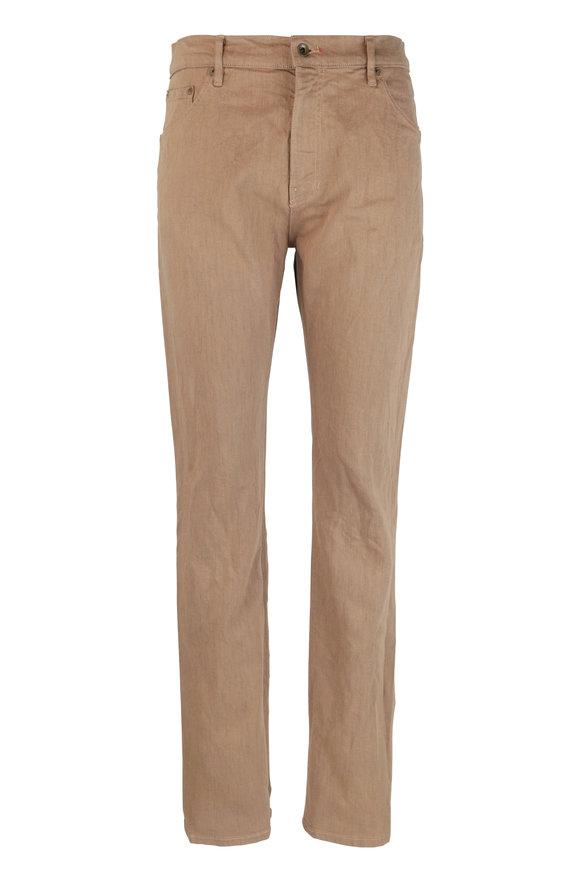 Raleigh Denim Martin Desert Stretch Cotton Five Pocket Jean