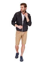 Moncler - Camel Stretch Cotton Bermuda Shorts