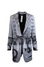 Akris - Bloom Magnet Photo Print Jacket