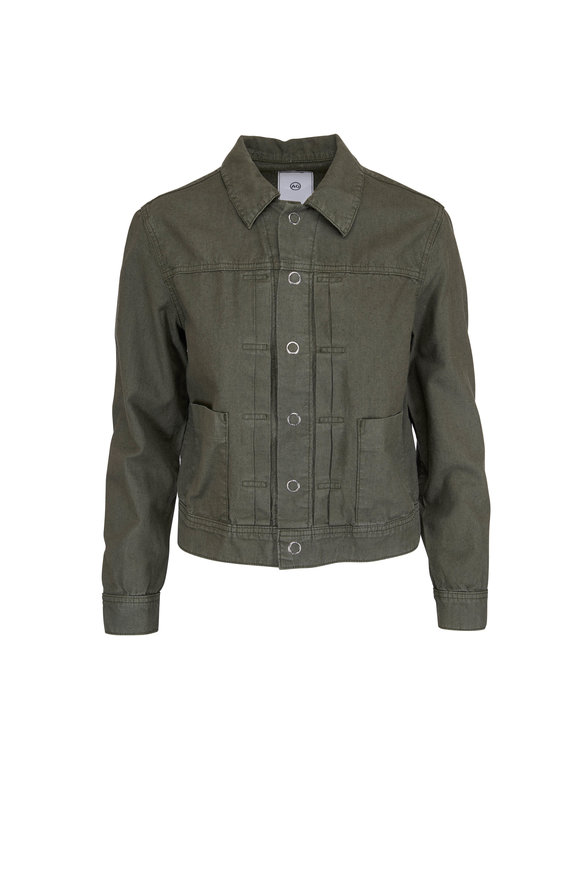 AG - Adriano Goldschmied Eliette Sulfur Ash Green Jacket