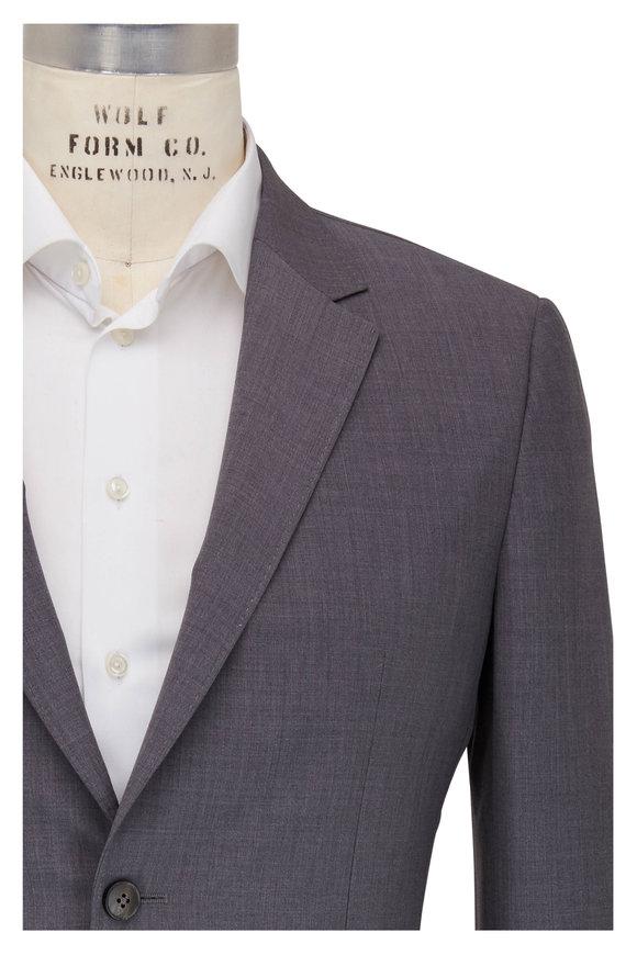 Z Zegna Techmerino Wash & Go Gray Wool Suit