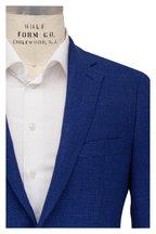 Atelier Munro - Bright Blue Basketweave Wool Sportcoat