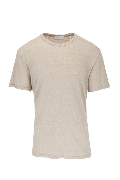 BLDWN - Nolan Greige Linen T-Shirt