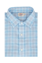 Faherty Brand - Everyday Light Blue Check Sport Shirt