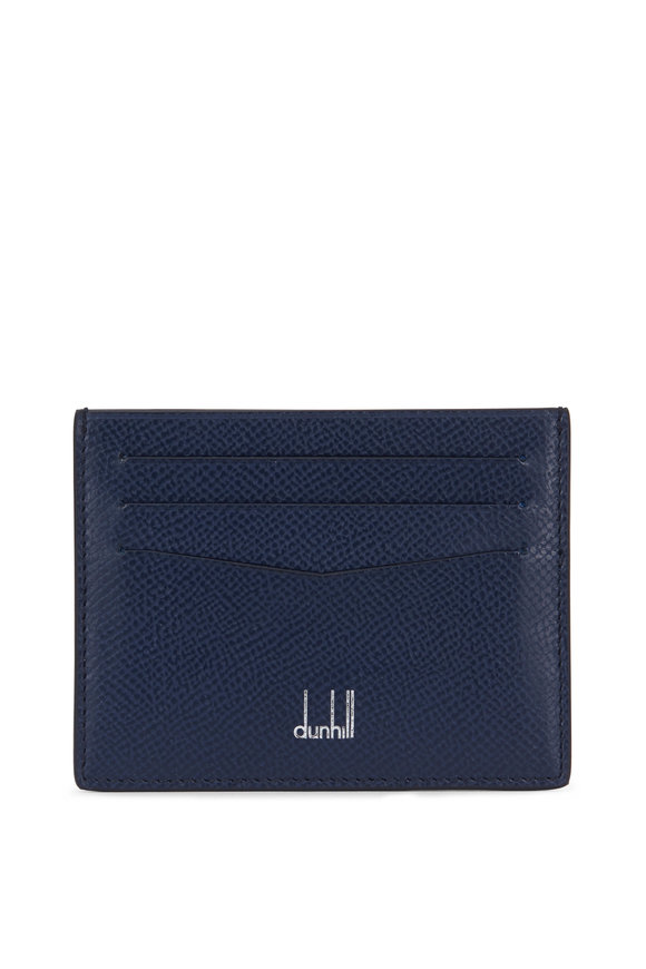 Dunhill Cadogan Navy Blue Leather Cardcase