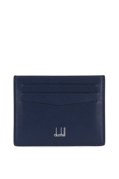 Dunhill - Cadogan Navy Blue Leather Cardcase