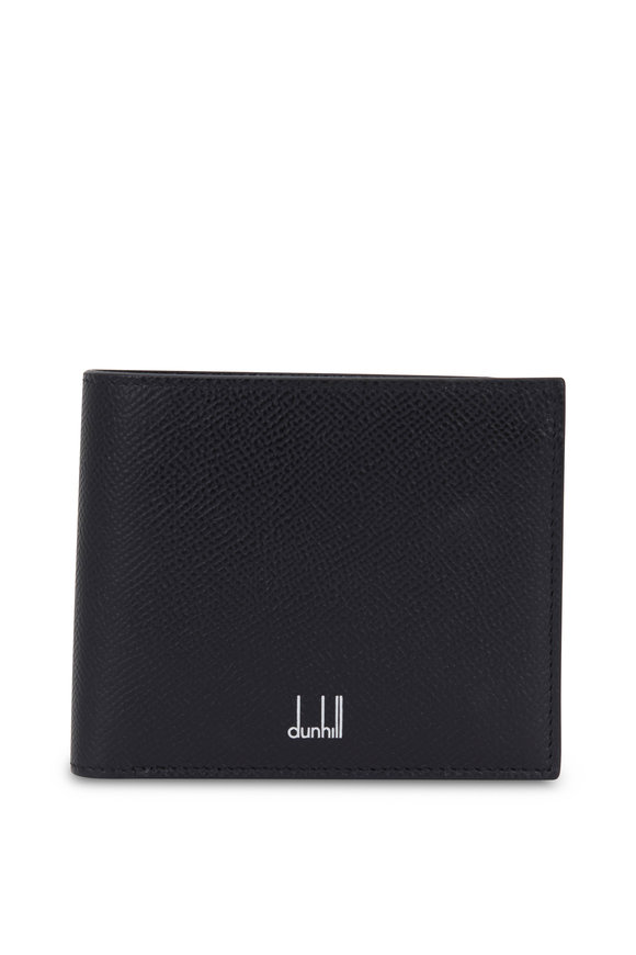 Dunhill Cadogan Black Grained Leather Billfold Wallet