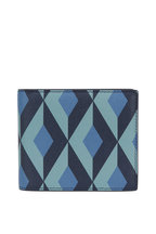 Dunhill - Cadogan Blue Sonte Grained Leather Billfold Wallet