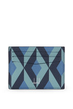 Dunhill - Cadogan Stone Blue Leather Card Case