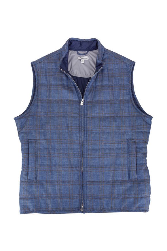 Peter Millar Crown Springtime Countryside Blue Coast Vest