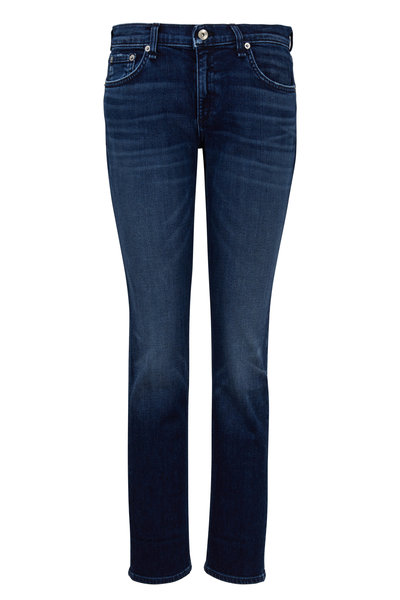Rag & Bone - Dre Wilton Low-Rise Slim Boyfriend Jean