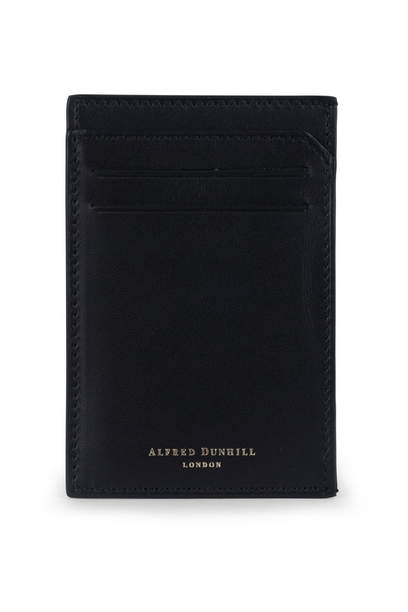 Dunhill Duke Black Leather Card Case