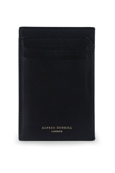 Dunhill - Duke Black Leather Card Case