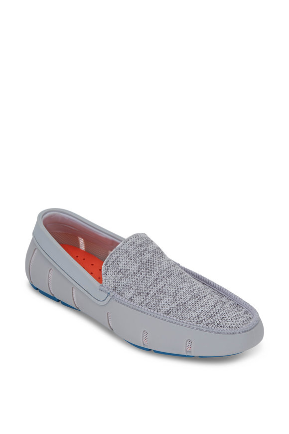 Swims Alloy & Seaport Blue Classic Venetian Loafer