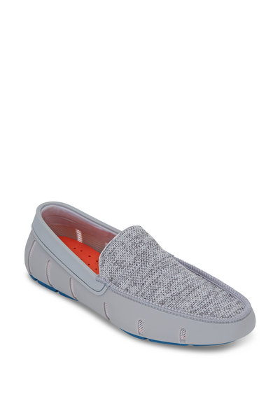 Swims - Alloy & Seaport Blue Classic Venetian Loafer