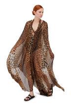 Saint Laurent - Leopard High-Cut Halter Swimsuit