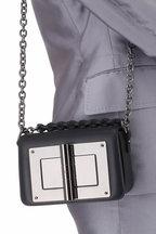 Tom Ford - Natalia Black Leather Small Chain Bag