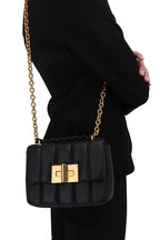 Tom Ford - Natalia Black Soft Quilted Leather Small Bag