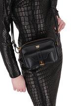 Tom Ford - Black Leather Camera Bag