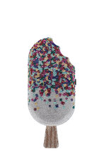 Judith Leiber - Silver Sprinkle Popsicle Evening Bag
