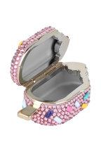 Judith Leiber - Pink Strawberry Sprinkle Crystal Pillbox