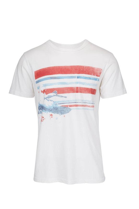 Sol Angeles Slash Burn Crewneck T-Shirt