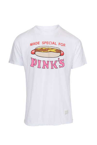 Retro Brand - Pinks White Vintage T-Shirt