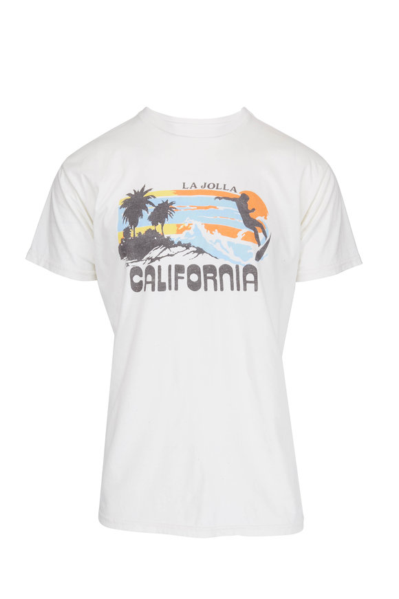 Retro Brand La Jolla California White T-Shirt