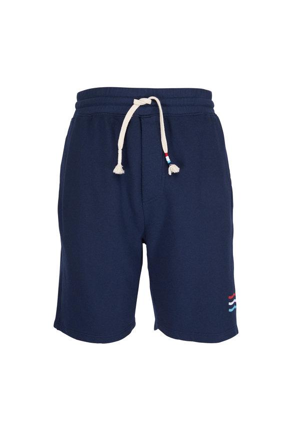 Sol Angeles Indigo Striped Shorts