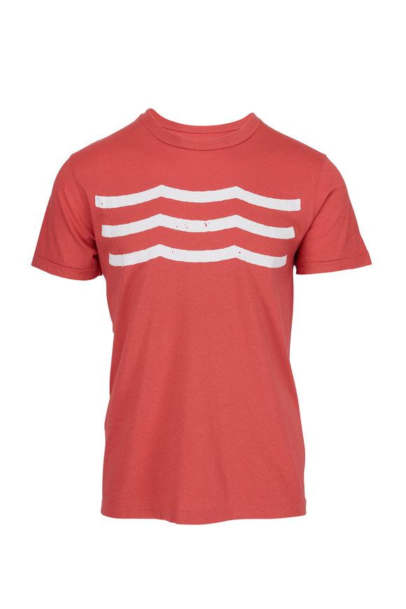 Sol Angeles Waves Sunset Crewneck T-Shirt