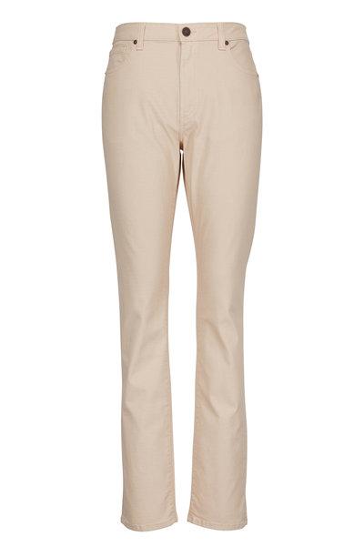 Monfrere - Deniro Sand Straight Leg Jean
