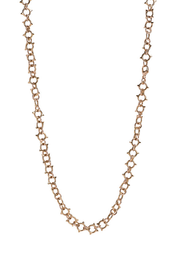 Genevieve Lau 14K Yellow Gold Sun Chain Necklace