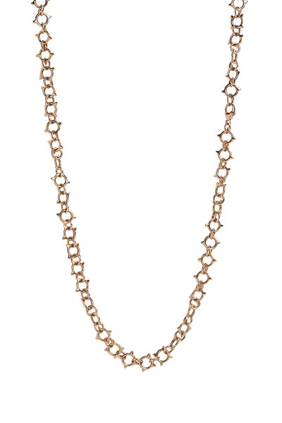 Genevieve Lau - 14K Yellow Gold Sun Chain Necklace