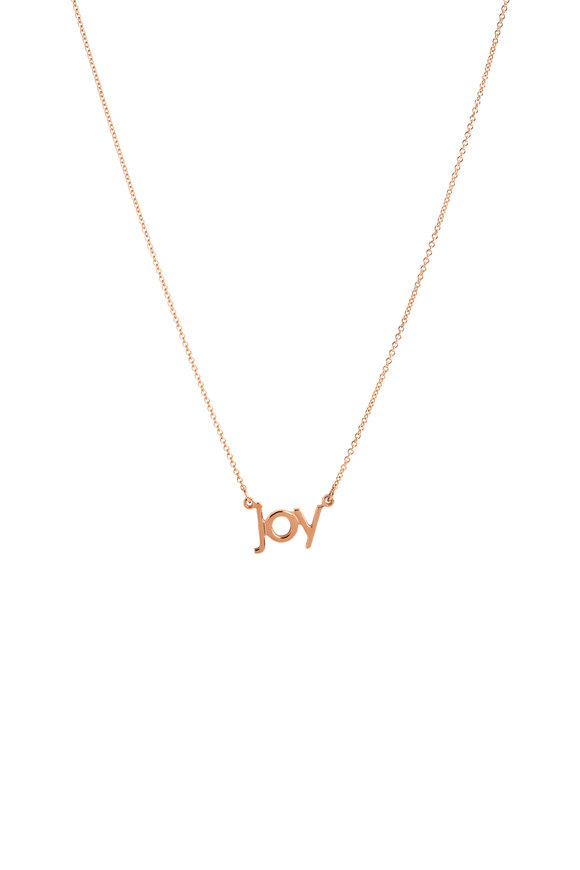 Genevieve Lau 14K Rose Gold Joy Necklace