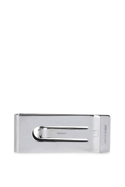 Dunhill - Silver Beam Pattern Money Clip