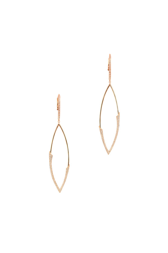 Etho Maria 18K Yellow Gold Diamond Dangle Earrings