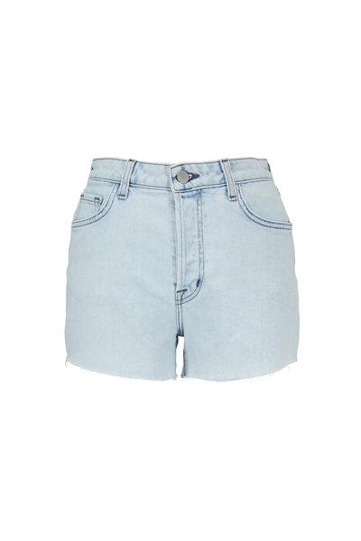J Brand - Gracie Outcast High-Rise Cutout Shorts
