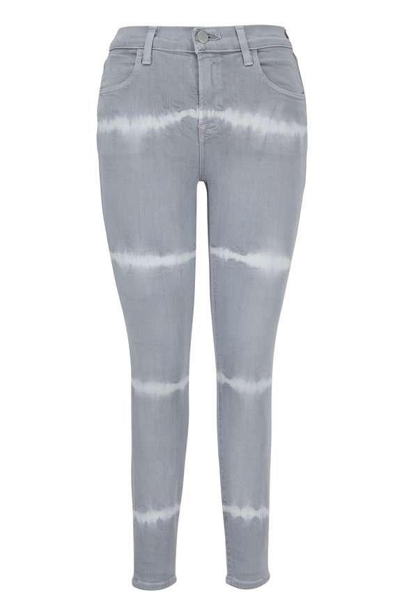 J Brand Alana Gerogetown Shockwave High-Rise Cropped Jean