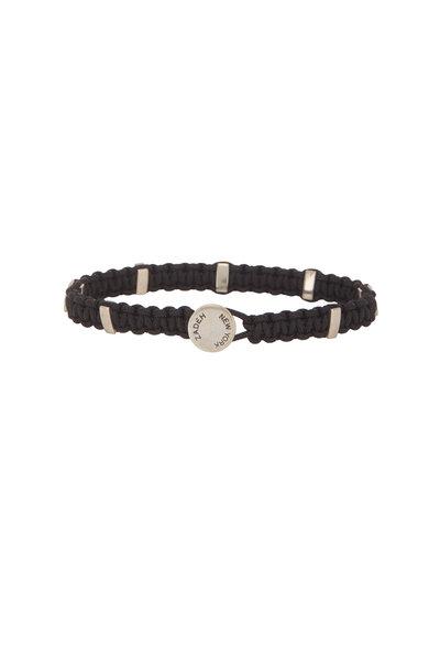 Catherine M. Zadeh - Santos Black Macramé Bracelet