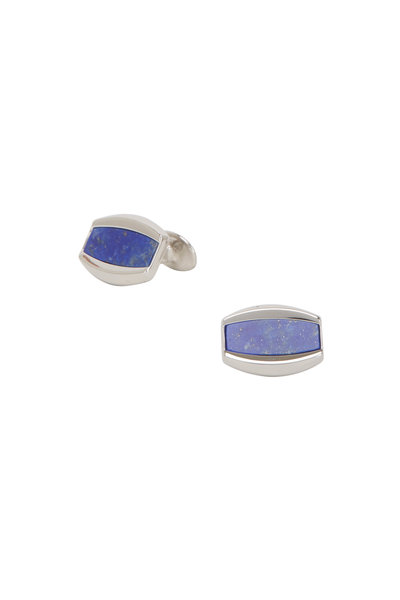 David Donahue - Blue Lapis Sterling Silver Cuff Links