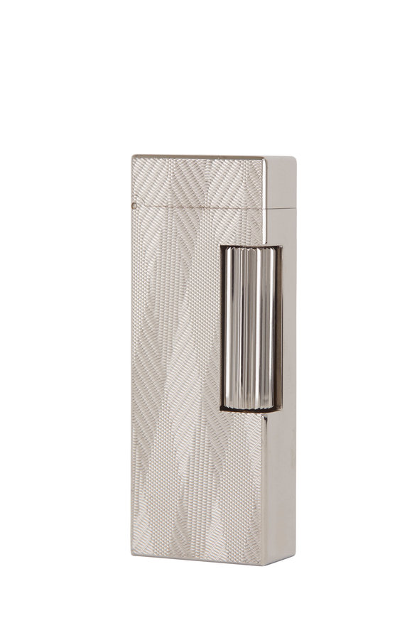 Dunhill Silver Beam Rollergas Lighter