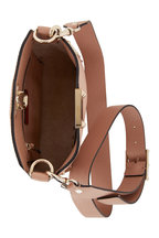 Valentino Garavani - Rockstud Rose Grained Leather Mini Crossbody