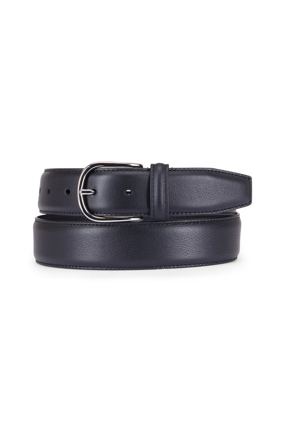 Anderson's Black Leather Belt