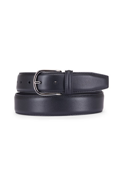 Anderson's - Black Leather Belt