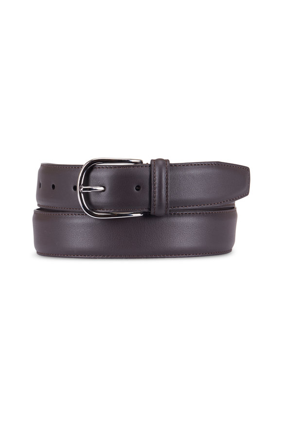 Anderson's Medium Brown Leather Belt